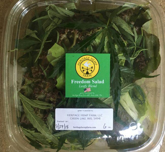 Heritage Hemp Freedom Salad
